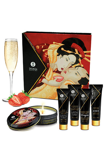 Geisha Secrets vino espumoso de fresa