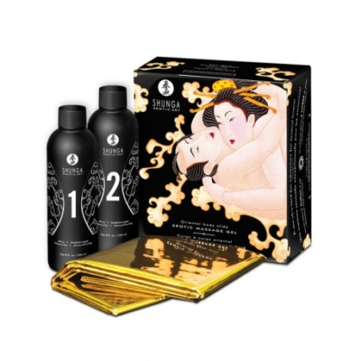 Shunga Erotic Massage Gel Melon Mango